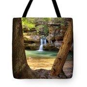 Hocking Hills Waterfall Tote Bag
