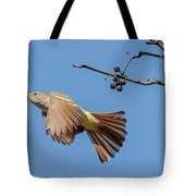 Ash-throated Flycatcher Flight Tote Bag