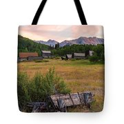 Ashcroft Ghost Town Tote Bag