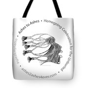 Ashes To Ashes Speak My Name Seal Tote Bag