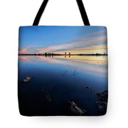 Ashurst Lake Sunrise Tote Bag
