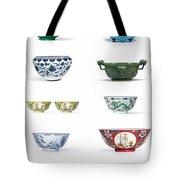 Asian Art Chinese Pottery - Bowls Tote Bag