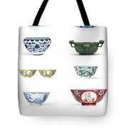 Asian Art Chinese Pottery Tote Bag