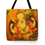 Asian Art Textile Tote Bag