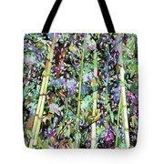 Asian Bamboo Forest Tote Bag