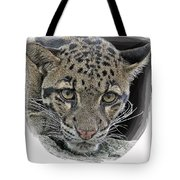 Asian Cloud Leopard Tote Bag