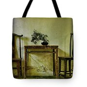 Asian Furniture And Bonsai Tote Bag