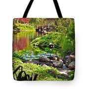 Asian Garden 3 Tote Bag