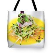 Asian Korean Fusion Fresh Prawn Salad Tote Bag