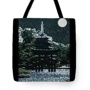 Asian Moon Tote Bag