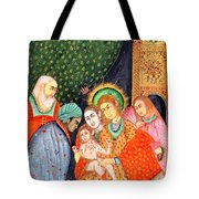 Asian Nativity Tote Bag