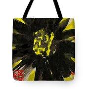 Asian Sunflower Tote Bag