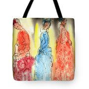 Asian Three Tote Bag