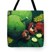 Ackee And Breadfruit  Tote Bag