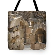 Asklepios Temple Ruins View 3 Tote Bag