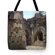 Asklepios Temple Ruins View 4 Tote Bag