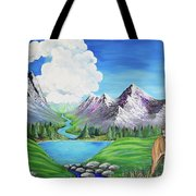 Aslan's Country Tote Bag