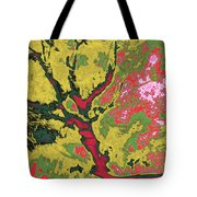 Asleep At The Gate 44 Tote Bag