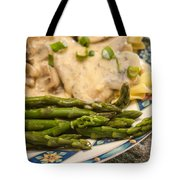 Asparagus And Stroganoff Tote Bag