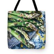 Asparagus Tote Bag by Nadi Spencer