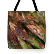Asparagus Tips Tote Bag