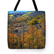 Aspen Cascades In The Sierra Tote Bag