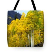 Aspen Fall Tote Bag