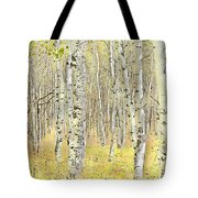 Aspen Forest 2 - Photo Painting Tote Bag