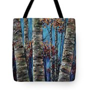 Aspen Forest In The Rocky Mountain Tote Bag