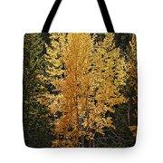 Aspen Gold Tote Bag