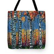 Aspen Grove By Olena Art Tote Bag