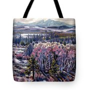 Aspen In April Tote Bag