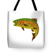 Aspen Leaf Rainbow Trout 1 Tote Bag