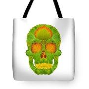 Aspen Leaf Skull 10 Tote Bag