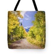 Aspen Road Tote Bag
