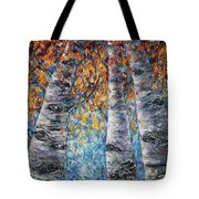 Aspen Trees  Tote Bag