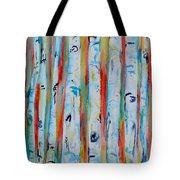 Aspens Abstract IIi Tote Bag