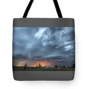 Asperitas Sunset Tote Bag