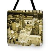 Aspirin In Sepia Tote Bag