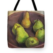Assorted Pears Tote Bag
