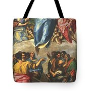 Assumption Of The Virgin 1577 Tote Bag