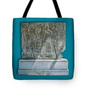 Assyrian Relief 02 Tote Bag