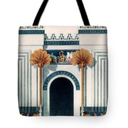 Assyrian Temple Tote Bag
