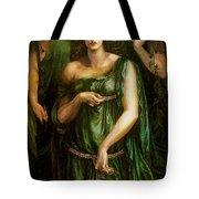 Astarte Syriaca Dante Gabriel Rossetti Tote Bag