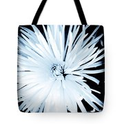 Aster In Black And White Tote Bag