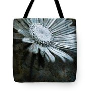 Aster On Rock Tote Bag