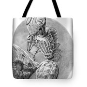Asteroid Mining Craft Tote Bag