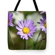 Asters Tote Bag