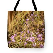 Asters In Autumn Tote Bag