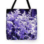 Astilbleflowers In Violet Hue Tote Bag